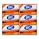 BC Powder Daytime Cough & Cold, Multi-Symptom Relief, 4 Powder Sticks, 6 Pack