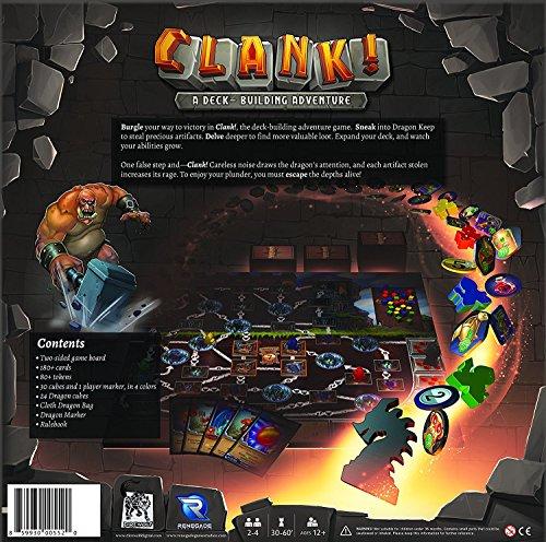 Renegade Game Studios Clank! A Deck Building Adventure!