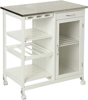 Berlenus CP4HG - Mueble Alto de Cocina con 1 Puerta (40 cm ...