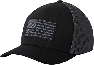 Unisex-Adult PFG Mesh Fish Flag Ball Cap