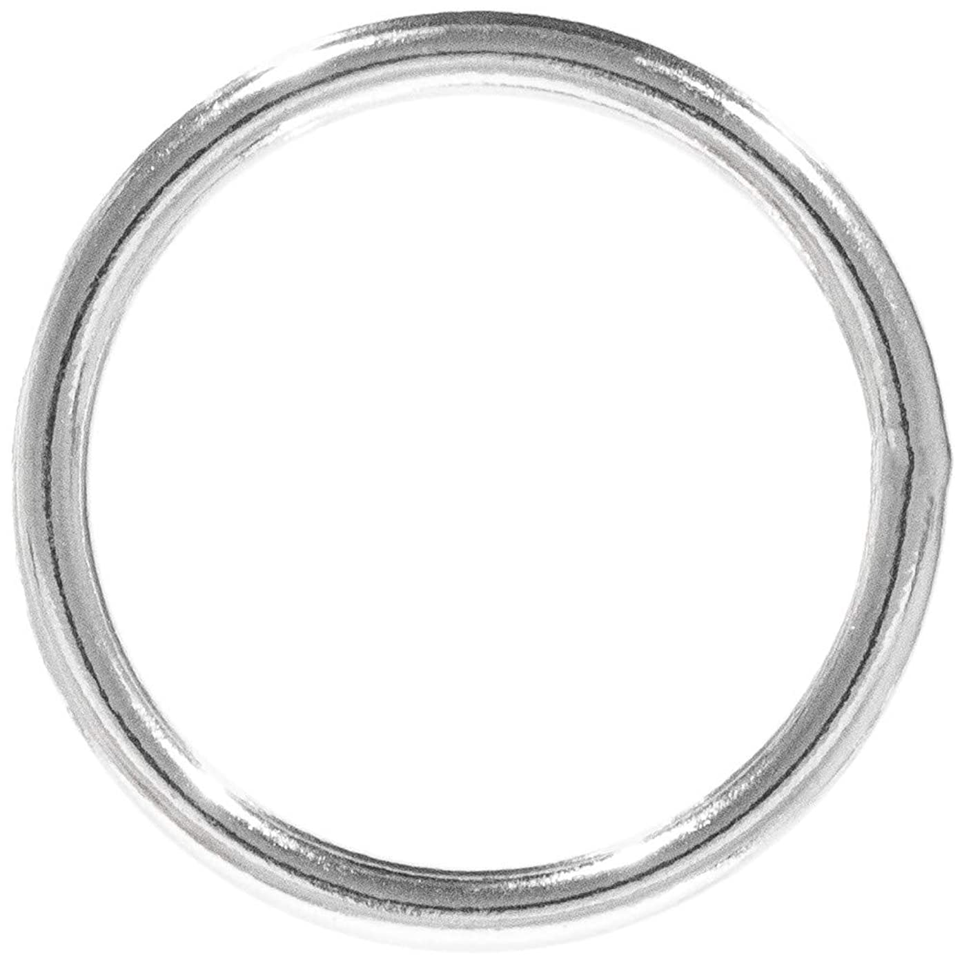 Craft County Metal O-Rings in Multiple Styles, Diameters, and Materials – Available in 5, 10, 25, 50, and 100 Packs