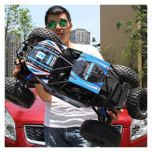 YYQIANG Control remoto Coche de pie 4WD RTR Buggy Monster Truck 2.4GHz 1/10 RC All-Terrain Rock Crawler Off-Road Cars Trail...