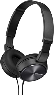 ソニー SONY ヘッドホン MDR-ZX310 : 密閉型 折りたたみ式 ブラック MDR-ZX310 B