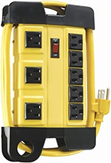 Coleman Cable 04655 8-Outlet Power Strip, Heavy-Duty 6-Foot, Design
