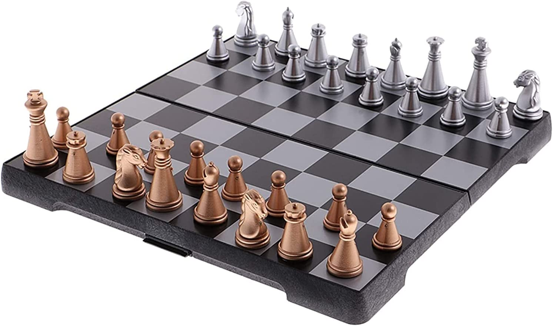 ZHZHUANG Chess Set Portable Tulsa Mall Magnetic Omaha Mall Plastic Travel Board