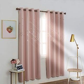 MANGATA CASA Kids Star Blackout Curtains Grommet Thermal...