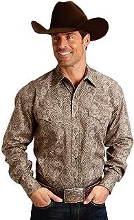 Men's Roper Paisley Print Long Sleeve Western Shirt - 11-001-0425-0650