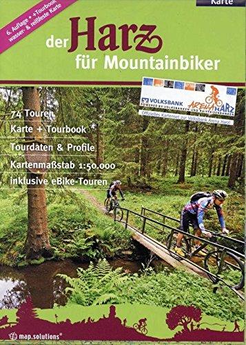 Der Harz für Mountainbiker: Offizieller Mountainbikeführer der