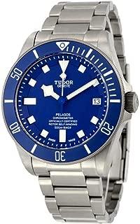 Pelagos Blue Dial Automatic Mens Watch 25600TB-BLRS