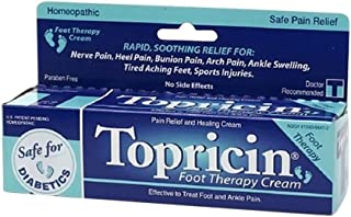 TOPRICIN FOOT THERAPY CREAM 2 OZ, 2 pack