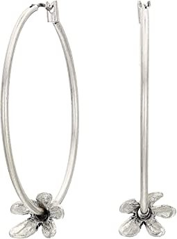 Tulip Hoop Earrings
