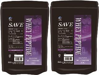 【2個セット】SAVE ホエイペプチド 500g×2(1kg) 国産