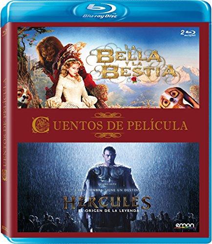 Pack Cuentos De Película: Hércules + La Bella Y La Bestia [Blu-ray]