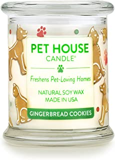 One Fur All - 100% Natural Soy Wax Candle, 20 Fragrances - Pet Odor Eliminator, 60-70 Hrs Burn Time, Non-To...