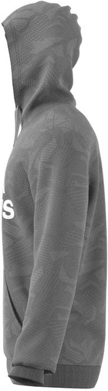 adidas M E AOP HDY Maillot de survêtement Homme Grpumg/Blanc