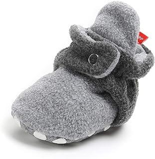 Save Beautiful Newborn Infant Baby Girls Boys Warm Fleece Winter Booties First Walkers Slippers Shoes
