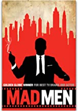 Mad Men TV Series Wall Art Painting Print On Canvas Poster Home Decoration gift Artwork -50x70cm Sin marco 1 PCS