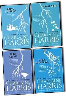 Charlaine Harris Harper Connelly Mysteries Quartet 4 Books Collection Pack Set (An Ice Cold Grave (3), Grave Sight (1), Grave Surprise (2), Grave Secret (4))