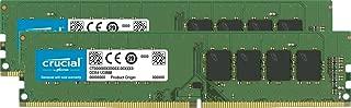 Crucial 32GB Kit (16GBx2) DDR4 2133 MT/s (PC4-17000) DR x8 Unbuffered DIMM 288-Pin Memory - CT2K16G4DFD8213