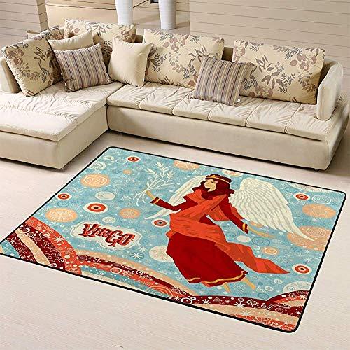 SESILY deurmatten gebied tapijt Astrologische sterrenbeeld Maagd Set Horoscoop Tekenen vloer Mat