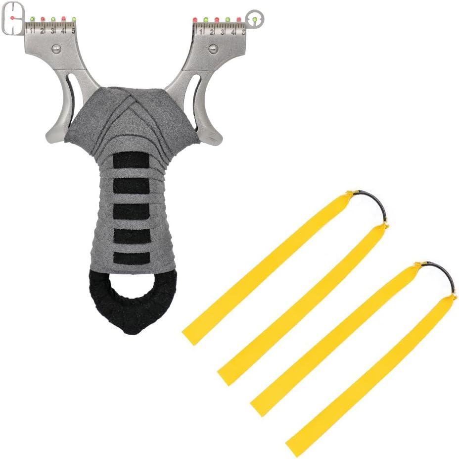 TOPARCHERY Detroit Mall Upgrade Flat Denver Mall Band Catapult with Slingshot Adjustable