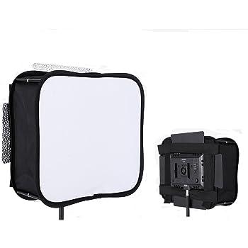 撮影ledライト YN600L II YN900 ディフューザー, ビデオライトパネル折畳み式定常光 ソフトボックス