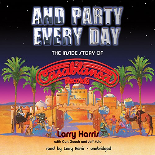 And Party Every Day audiobook cover art