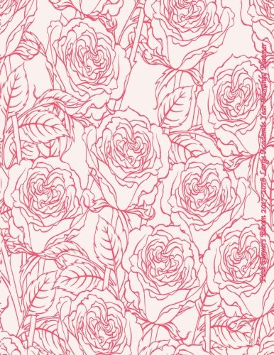Pink Flowers Bloom 2017-2018 Large Academic Year Monthly Planner: July 2017 To December 2018 18 Month Calendar with Motivational Quotes (2018 Cute Planners) (Volume 50)