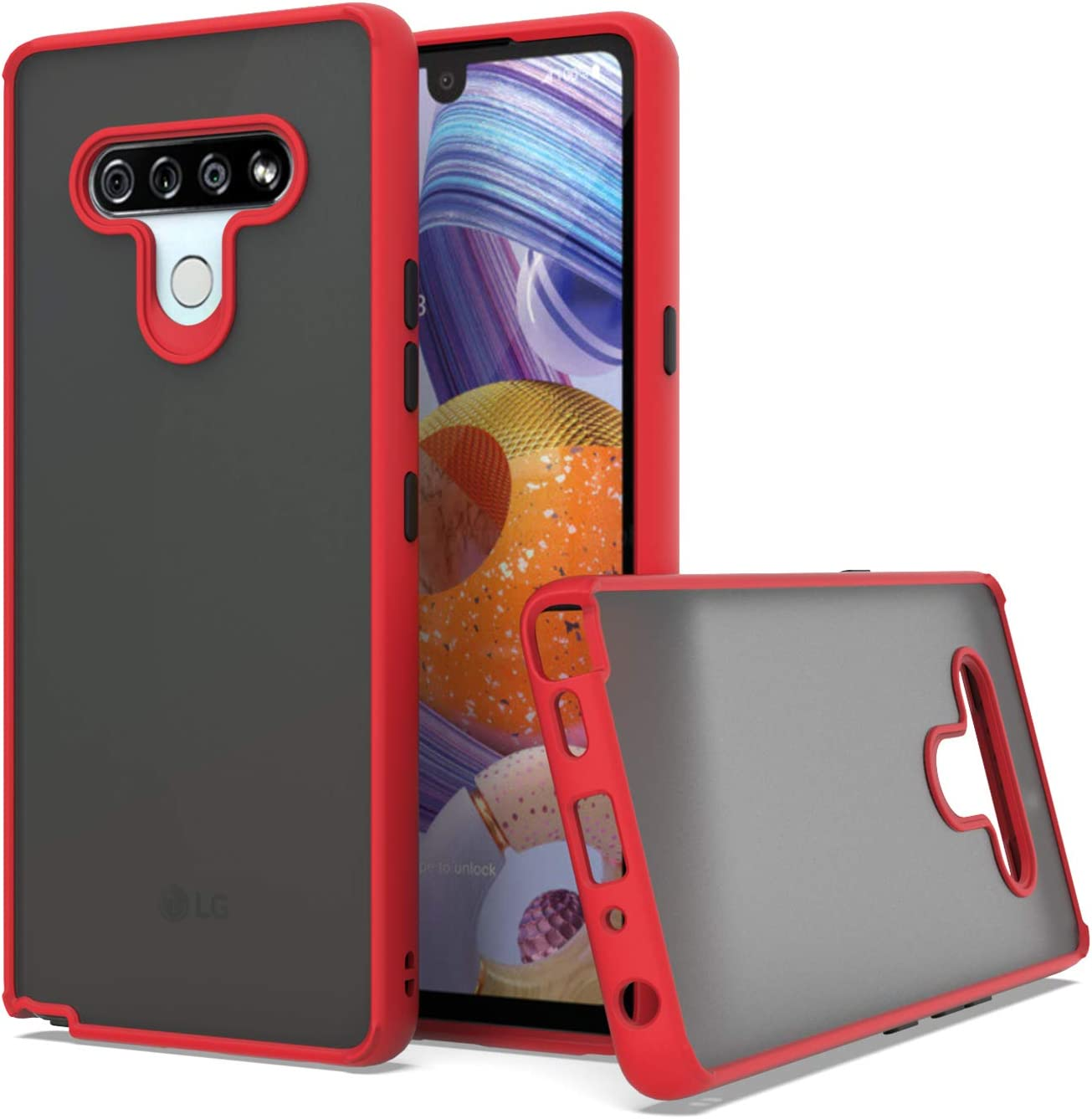 Super popular specialty store KWEICASE Cell Phone Case for LG Fit Stylo Bum 6 Slim Protective Max 46% OFF