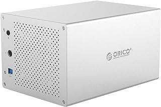 ORICO Disco Duro Externo, para Disco Duro USB 3.0 a Doble bahía SATA para Disco Duro SATA de 3.5