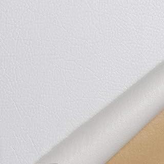 JKIYUGFGH Patch Autocollant Cuir Blanc Cuir Patch réparation Autocollant Premiers pour canapés, sièges de Voiture, Sacs à ...