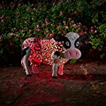 Smart Garden Solar Daisy The Cow Silhouette Light Garden Light Figure Ornament 4