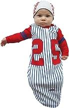 Sozo Baby Boys' Baseball Bunting and Cap Set