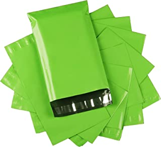 SUNN Green 10x13 Inch 100Pcs Envelope Mailers,Postal Bags with Tear-Proof and Waterproof Business Envelopes,Mailing Bags E...