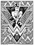 Trends International DC Comics Wonder Woman 24'x36' Coloring Poster