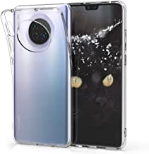 kwmobile Crystal Case Compatible with Huawei Mate 30 - Soft Flexible TPU Silicone Protective Cover - Transparent