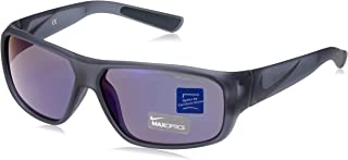 Mercurial 6.0 R Sunglasses, Matte Crystal Anthracite/Tumbled Grey Frame, Grey with Blue Night Flash