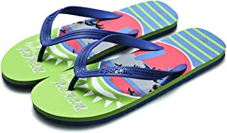 Comfortable/beautiful sandals and slippers Men'S Sandals And Slippers Trend Fashion Beach Flip-Flops Flip-Flops (Color : Green)
