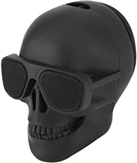 Bluetooth Speaker, Creativity Skull Head Bluetooth Speaker, Portable Wireless Stereo Sound Speaker, for Indoor and Outdoor... photo