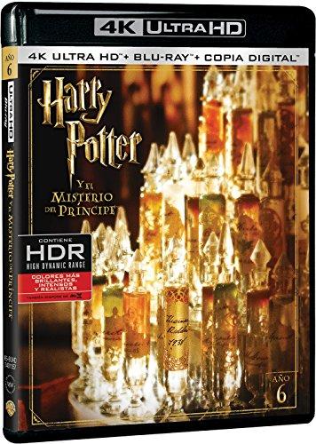 Harry Potter y el Misterio del Príncipe 4k UHD [Blu-ray]