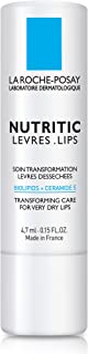 La Roche-Posay Nutritic Lip Balm for Very Dry Lips, 0.15 Fl. Oz.