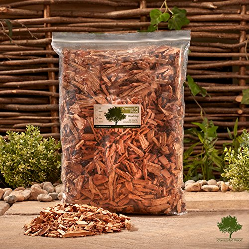 Smoking Wood Chips 4.5 Litre – Smoking Food in a Smoker/BBQ - Kiln Dried - Fast