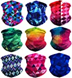 TETA Protective Multi-use Seamless Breathable Neck and Head Tube Gaiter (Pack of 6)
