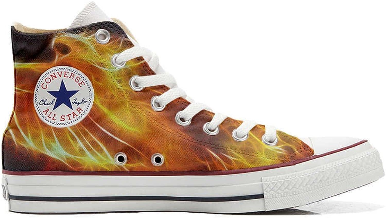 Converse All All All Star personalisierte Schuhe - Handmade schuhe - Fire  31f77e