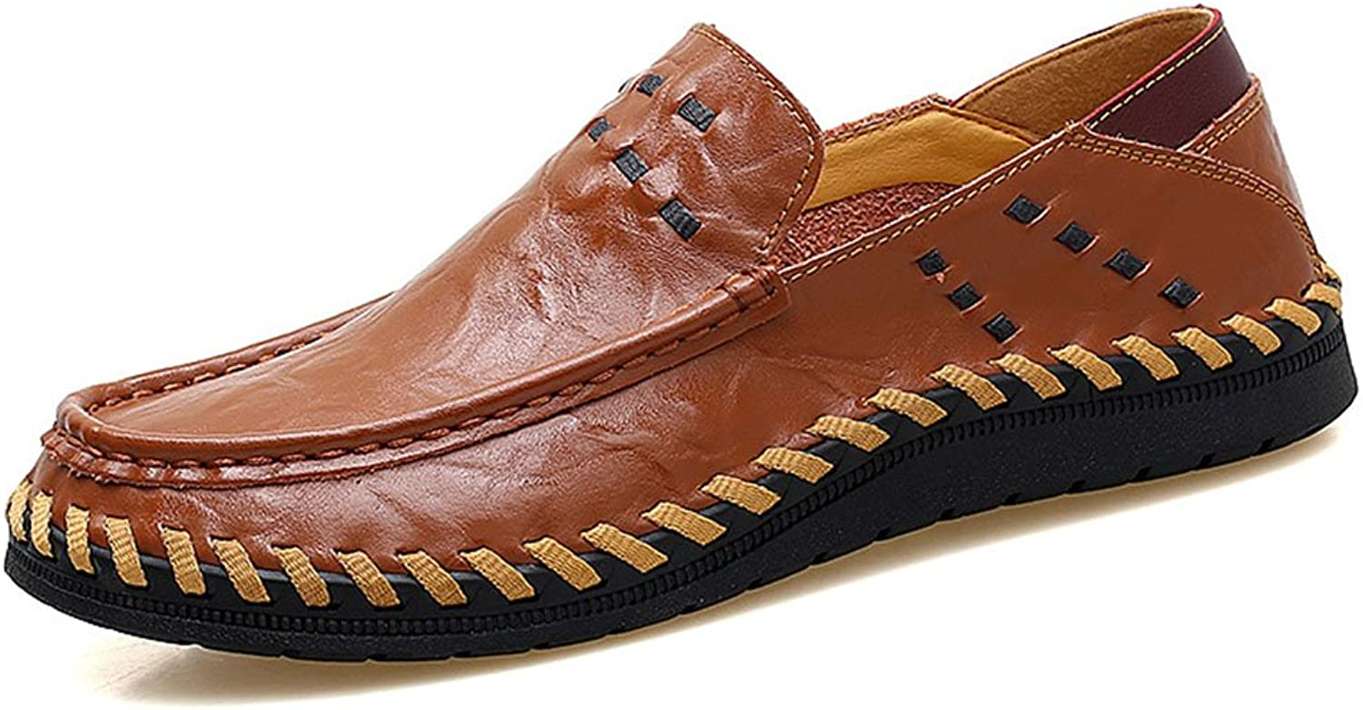 Leather shoes for Men with Leather Outdoor Handmade shoes