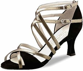 Werner Kern Chaussures de Danse Eva - Cuir Perl Nude - 6,5 cm