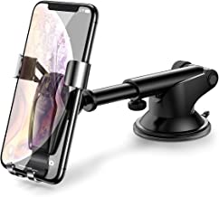 AINOPE Universal Dashboard Cell Phone Holder Compatible with iPhone X/ 8/7/ 6s/ Plus, Samsung Note 9/ S9/ S8/ S7/ S6