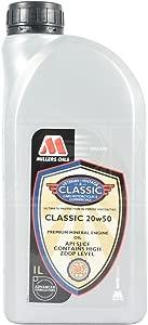 Millers Oils Pistoneeze Classic 20W-50 Mineral Engine Oil Litre