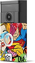 MightySkins Skin Compatible with Ring Video Doorbell - Cartoon Mania | Protective, Durable, and Unique Vinyl Decal wrap Cover | Easy to Apply, Remove, and Change Styles | Made in The USA