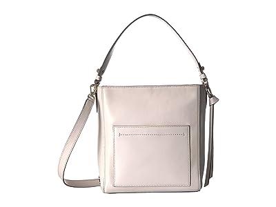 Cole Haan Kaylee Small Bucket Hobo (Ivory) Bags